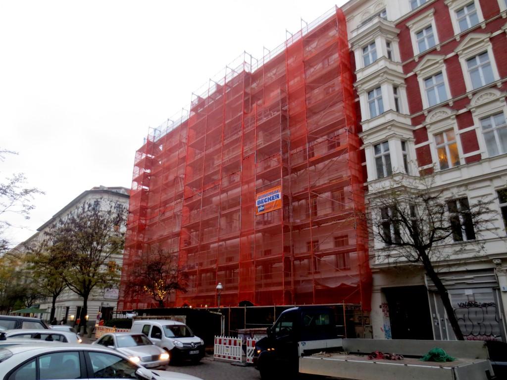 Kreuzberg scaffolding