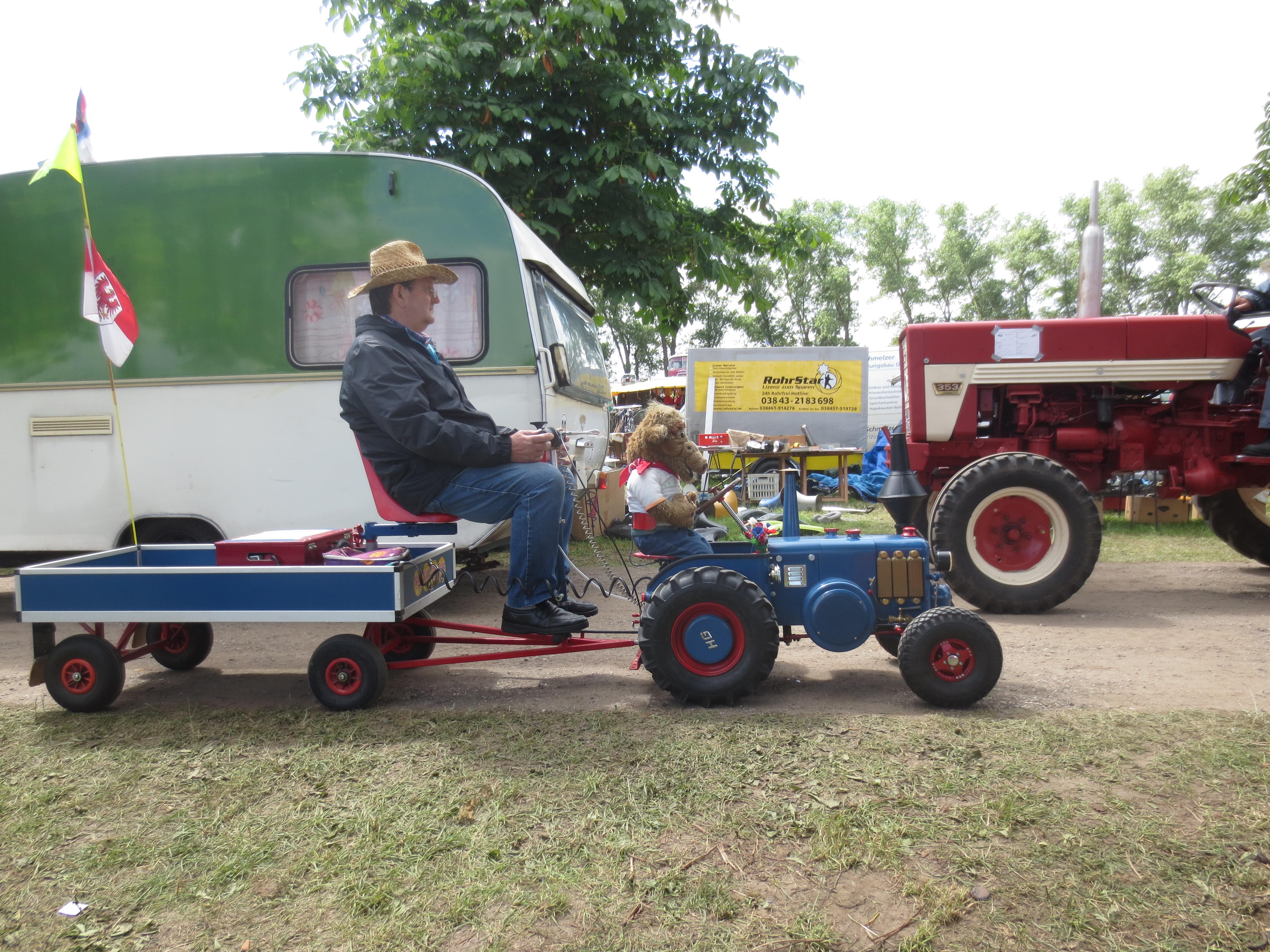 Tractor fan