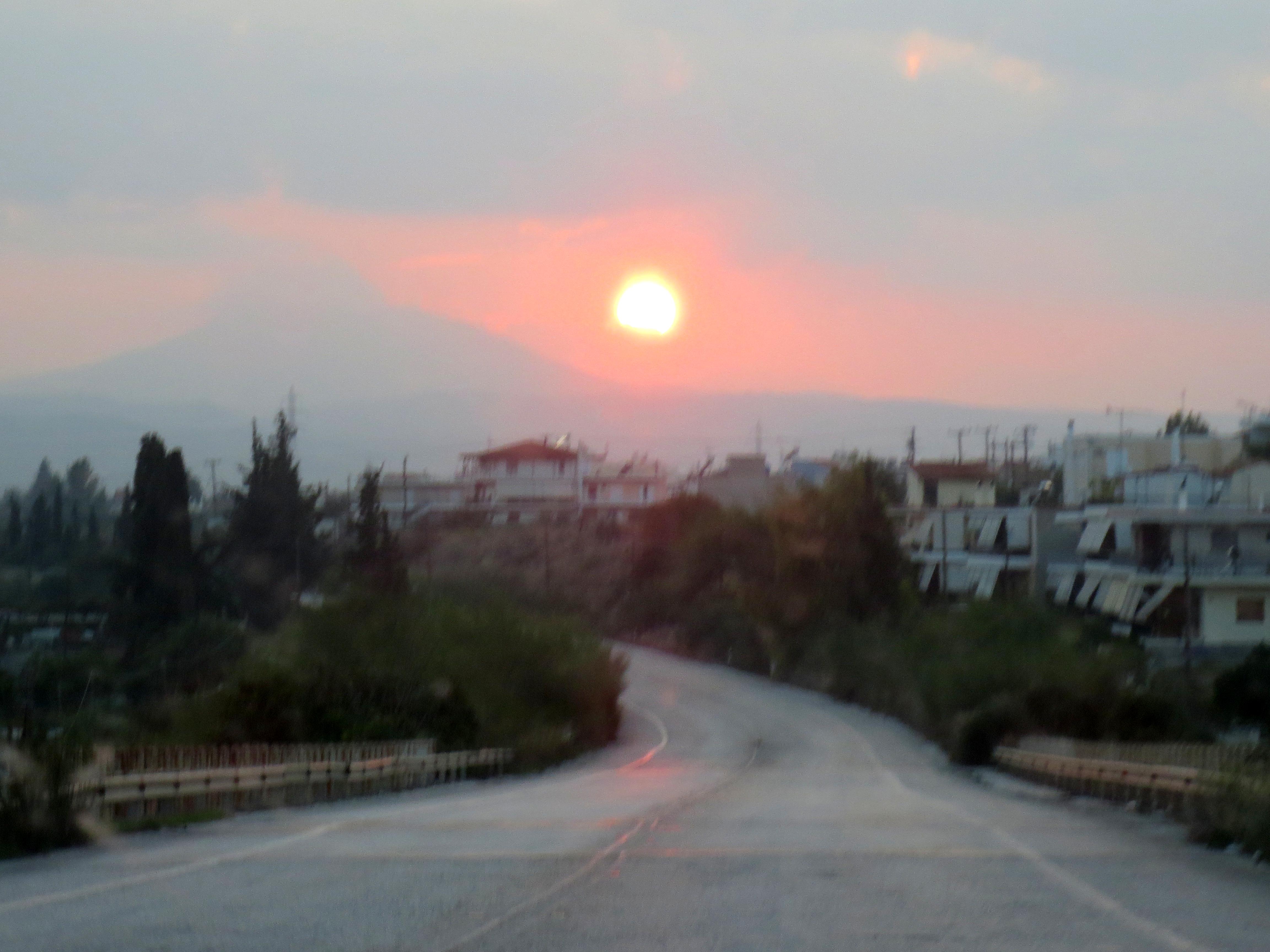 Corinthian Sunset