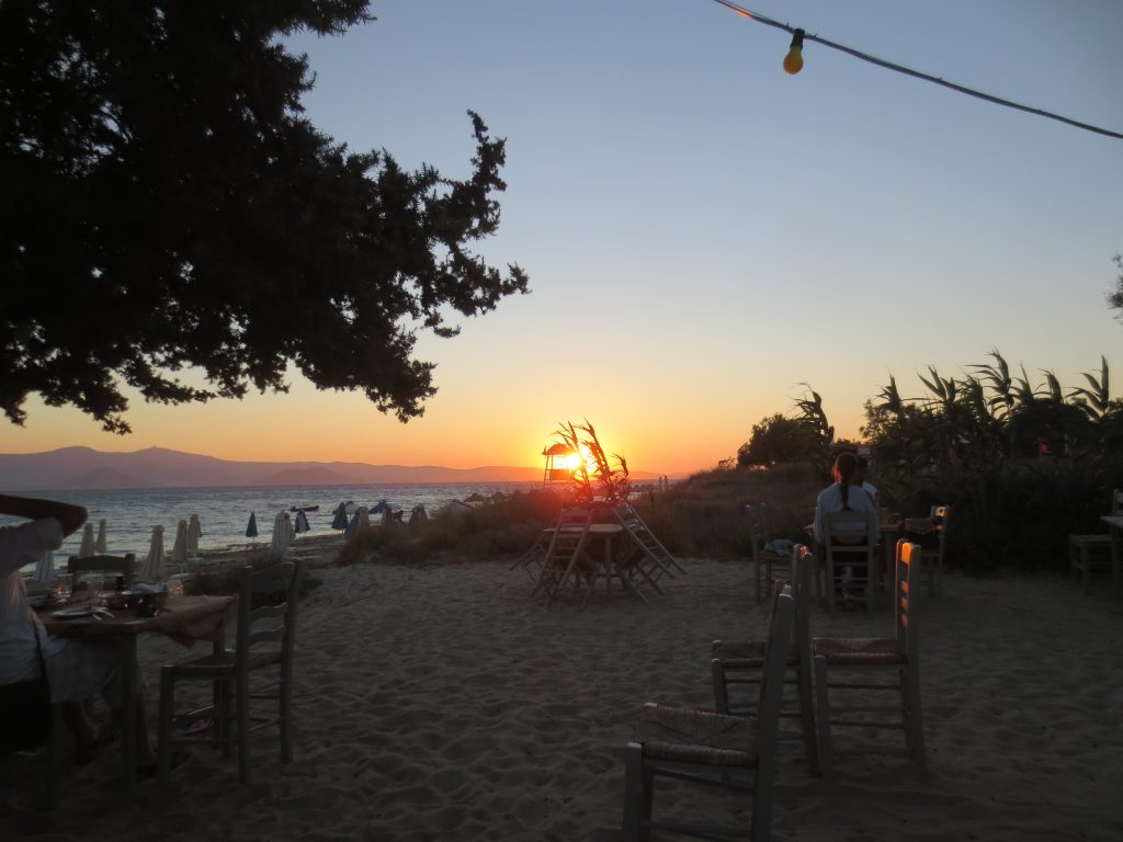 Naxos by evening